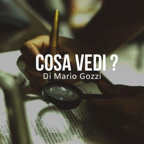 Cosa vedi ? del pastore Mario Gozzi