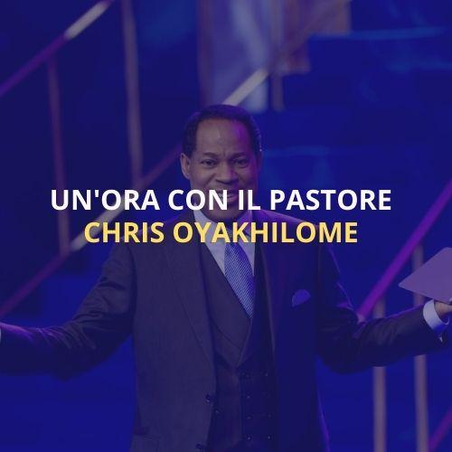 Un'ora con il past. Chris Oyakhilome italia